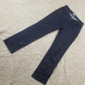 Eileen Fisher Dark Wash Denim Jeans Size Petite Sm